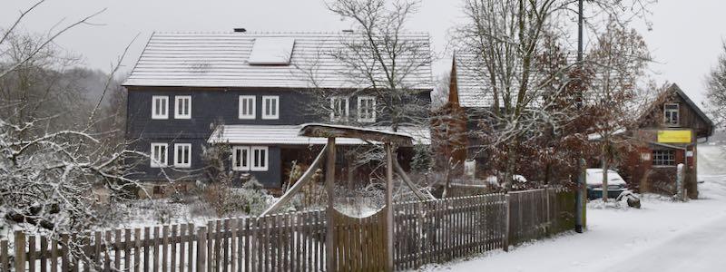 Scheffehof im Winter