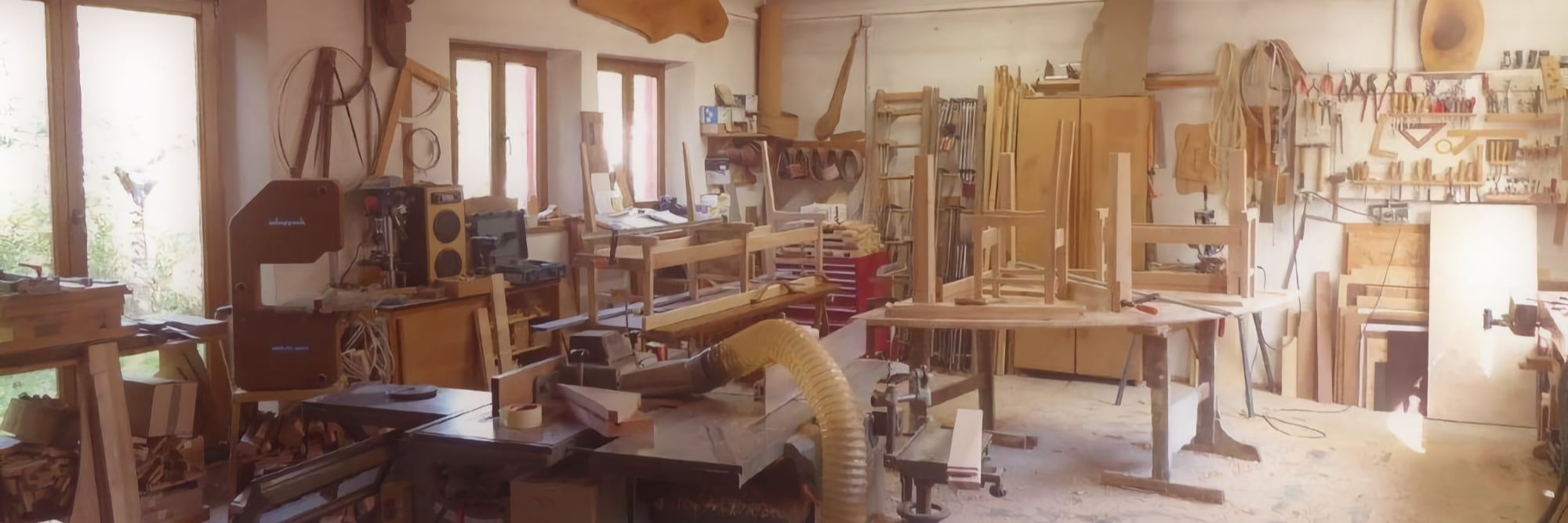 Welantik - Holzwerkstatt auf dem Scheffehof